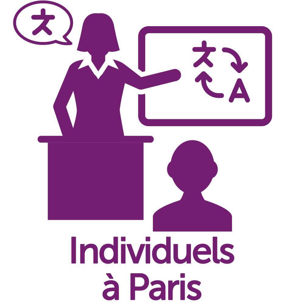 Cours individuels Paris